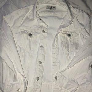 Lucky Brand white denim jacket